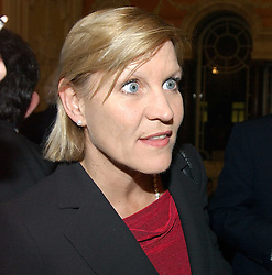 ANJI HUNTER at a party to celebrate the publication of Andrew Robert's new book 'Waterloo: Napoleon's Last Gamble' and the launch of the paperback version of Leonie Fried's book 'Catherine de Medici' held at the English-Speaking Union, Dartmouth House, 37 Charles Street, London W1 on 8th February 2005.<br />
