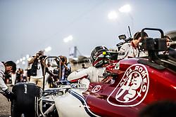 April 8, 2018 - Sakhir, Bahrain - LECLERC Charles (mco), Alfa Romeo Sauber F1 Team C37, starting grid during 2018 Formula 1 FIA world championship, Bahrain Grand Prix, (Credit Image: © Hoch Zwei via ZUMA Wire)