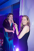SARAH FITZPATRICK; KATIE ROBINSON, Quorn Hunt Ball, Stanford Hall. Standford on Soar. 25 January 2014
