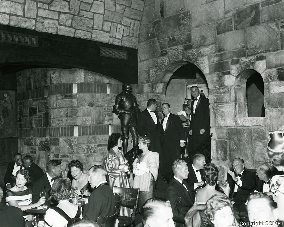 1959 Cave des Roys private club on La Cienega Ave.
