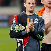 NLD/Amsterdam/20121114 - Vriendschappelijk duel Nederland - Duitsland, keeper Manuel Neuer