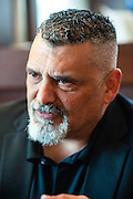 MILWAUKEE, WI -- 8/12/15 -- Michael Crivello is the president of the Milwaukee Police Association. The Milwaukee Police Department is under scrutiny for aggressive policing after a series of officer involved shootings, slow response times and illegal strip searches. Police Chief Ed Flynn has made enemies of community leaders, the police union, and conservative groups…by André Chung #_AC13090