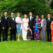 June 27, 2009 -- Sarah and Prajwal Karmacharya  wedding. Photo by Roger S. Duncan.