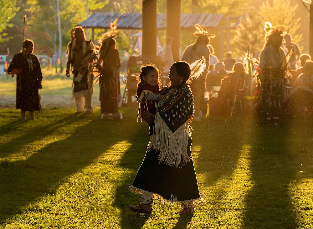 Tamkaliks Pow Wow in the Wallowa Valley of Oregon.