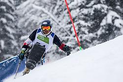 Bisqueritt Hudson Nicolas of Chile during Slalom race at 2019 World Para Alpine Skiing Championship, on January 23, 2019 in Kranjska Gora, Slovenia. Photo by Matic Ritonja / Sportida