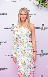 Gwyneth Paltrow attending the launch of the new Ladies Automatic Collection of Frederique Constant Geneve watches at the Design Museum in London.