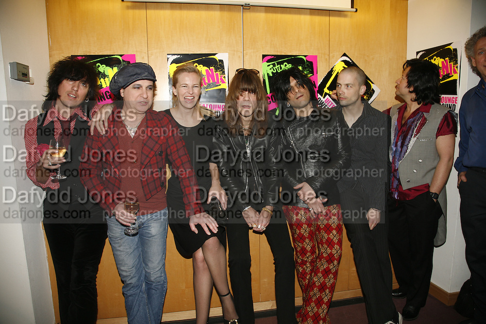 the NY Dolls and Alannah Weston, Future Punk Launch party at Selfridges, Oxford St. : 9th March. ONE TIME USE ONLY - DO NOT ARCHIVE  © Copyright Photograph by Dafydd Jones 66 Stockwell Park Rd. London SW9 0DA Tel 020 7733 0108 www.dafjones.com