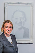 Natalie Bennett (pictured), leader of the Green Party, unveils portraits of the five main UK party leaders, hand-written from Twitter opinions by artist Annemarie Wright. The portraits are of David Cameron, Ed Miliband, Nick Clegg, Nigel Farage and Natalie Bennett, who is the local Green Party candidate for Holborn and St Pancras. Each portrait takes her 30-40 hours to create, using varying thickness of pens. Woolff Gallery, Charlotte Street, London.