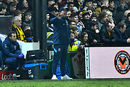 Middlesbrough manager Tony Pulis during the The FA Cup match between Newport County and Middlesbrough at Rodney Parade, Newport, Wales on 5 February 2019.