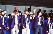 Henley. England, 1989 Henley Royal Regatta, River Thames, Henley Reach,  [© Peter Spurrier/Intersport Images],