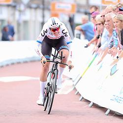 28-08-2018: Wielrennen: Ladies Tour: Arnhem <br />Ellen van Dijk werd derde in de openingstijdrit van de Boels Ladies Tour gewonnen.