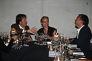 SIR PAUL MCCARTNEY AND ANDREA BARRON, Dinner given by Established and Sons to celebrate Elevating Design.  P3 Space. University of Westminster, 35 Marylebone Rd. London NW1. -DO NOT ARCHIVE-© Copyright Photograph by Dafydd Jones. 248 Clapham Rd. London SW9 0PZ. Tel 0207 820 0771. www.dafjones.com.
