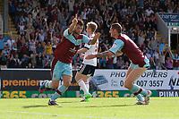 Football - Championship - Burnley vs. Bolton<br /> Charlie Austin of Burnley celebrates scoring his sides second goal at Turf Moor