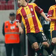 Galatasaray's Ayhan AKMAN during their Turkish Super League soccer match Galatasaray between Konyaspor at the T T Arena at Seyrantepe in Istanbul Turkey on Sunday, 20 May 2011. Photo by TURKPIX