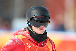 Great Britain's James Woods after run 5 in the Men's Ski Slopestyle Skiing at the Pheonix Snow Park during day nine of the PyeongChang 2018 Winter Olympic Games in South Korea.