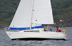 Day three of the Silvers Marine Scottish Series 2016, the largest sailing event in Scotland organised by the  Clyde Cruising Club<br /> Racing on Loch Fyne from 27th-30th May 2016<br /> <br /> 1032C, Stardust, Keith Johnson, RNCYC, Sadler 27<br /> <br /> <br /> Credit : Marc Turner / CCC<br /> For further information contact<br /> Iain Hurrel<br /> Mobile : 07766 116451<br /> Email : info@marine.blast.com<br /> <br /> For a full list of Silvers Marine Scottish Series sponsors visit http://www.clyde.org/scottish-series/sponsors/