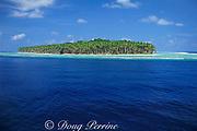 Pulo Ana Island, Southwest Islands, Palau or Belau, Micronesia, ( Western Pacific Ocean )