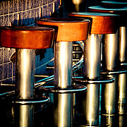 Image of bar stools aboard Sapphire Princess cruise ship.