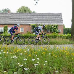 VELDHOVEN (NED) July 4 <br /> CYCLING <br /> The first race of the Schwalbe Topcompetition the Simac Omloop der Kempen<br /> Lars Loohuis (4) Wessel Krul (32) Roel van Sintmaartensdijk (46)