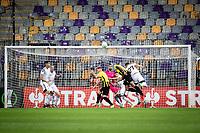 MARIBOR, Slovenia - SEPTEMBER 16: Chance for Vitesse  during the UEFA Conference League match between Mura and Vitesse at Stadion Ljudski vrt on September 16, 2021 in Maribor, Slovenia