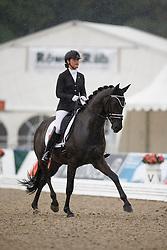 Heijkoop Danielle, (NED), El Torro B<br /> First Qualifier 6 years old horses<br /> World Championship Young Dressage Horses - Verden 2015<br /> © Hippo Foto - Dirk Caremans<br /> 07/08/15