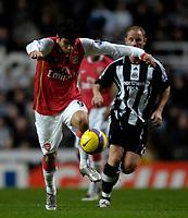 Photo: Jed Wee/Sportsbeat Images.<br /> Newcastle United v Arsenal. The FA Barclays Premiership. 05/12/2007.<br /> <br /> Arsenal's Eduardo Da Silva.