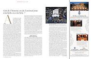 Publication: LE FIGARO MAGAZINE (France) March 5, 2011, Photography by Heidi & Hans-Jürgen Koch/heidihanskoch.com