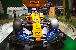 """November 7, 2018 - SãO Paulo, Brazil - SÃO PAULO, SP - 07.11.2018: SALÃO INTERNACIONAL DO AUTOMÃ""""VEL SP 2018 - The International Automobile Show of São Paulo, the largest exhibition of the automotive industry in Brazil and one of the largest in Latin America, begins this Thursday (08) at the São Paulo Expo, in the south zone of the city of São Paulo. The event takes place every two years in the city of São Paulo, with the aim of showing the latest developments in the automotive world, exposing cars, equipment and accessories. (Credit Image: © Emerson Santos/Fotoarena via ZUMA Press)"""