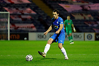 Jordan Keane. Stockport County FC 3-0 Eastleigh FC. Vanarama National League. Edgeley Park. 23.3.21