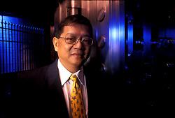 Portrait of Don Wang, Chairman of MetroBank