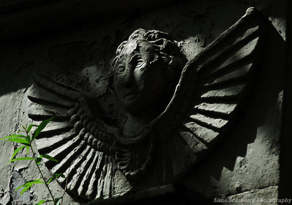 Angel Gravestone in Aberdeen, Scotland