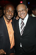 l to r: Stephen Hill and Bob Tate at The Urban Network Magazine and Alistair Entertainment V.I.P Reception honoring Stephen Hill & Charles Warfield & theCelebration of Urban Network's 21st Anniversary held at the Canal Room on May 13, 2009 in New York City .