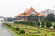 The Concert Hall at Chiang Kai Shek Memorial Hall in Taipei, Taiwan.