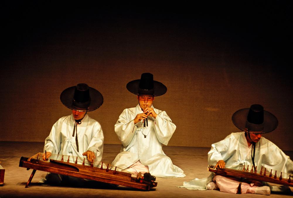 Korean traditional music and dance performance, Korea House, Seoul, South Korea