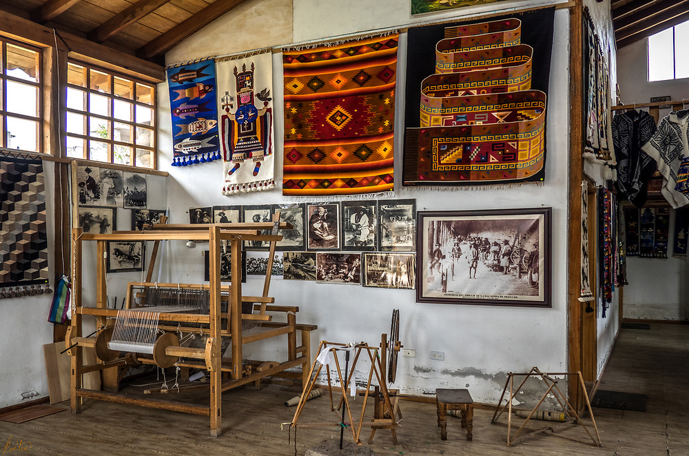 A second view of José Cotacachi's Showroom.