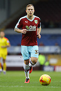 Scott Arfield of Burnley looks on. Skybet football league Championship match, Burnley v Rotherham United at Turf Moor in Burnley, Lancs on Saturday 20th February 2016.<br /> pic by Chris Stading, Andrew Orchard sports photography.