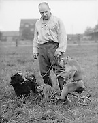 Circus at Maidstone with Monkeys, Kent, England, 1932