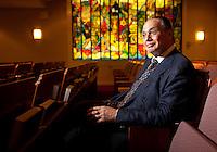 Rabbi Allan Schranz of the Sutton Place Synagogue in New York. ..Photo by Robert Caplin.