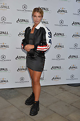 Jess Woodley at the Aspall Tennis Classic Players Party hosted by Aspall and Taylor Morris Eyewear at Bluebird, 350 King's Road, Chelsea, London England. 28 June 2017.<br /> Photo by Dominic O'Neill/SilverHub 0203 174 1069/ 07711972644 - Editors@silverhubmedia.com