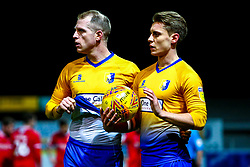 Neal Bishop of Mansfield Town and Danny Rose of Mansfield Town - Mandatory by-line: Ryan Crockett/JMP - 29/12/2018 - FOOTBALL - One Call Stadium - Mansfield, England - Mansfield Town v Swindon Town - Sky Bet League Two