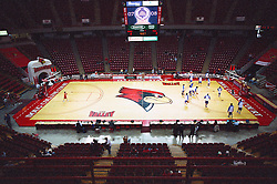14 December 2008: Inside Redbird Arena prior to  a game where the  Illinois State University Redbirds extended their record to 9-0 with a 76-70 win over the Eagles of Morehead State on Doug Collins Court inside Redbird Arena on the campus of Illinois State University in Normal Illinois