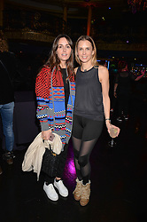 Left to right, Tania Fares and Stefani Grosse at the SheInspiresMe Dance in aid of Women for Women International held at the Café de Paris, 3 Coventry Street, London England. 25 January 2017.