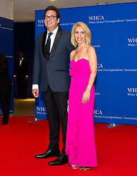 Marc Adelman and Dana Bash arrive for the 2017 White House Correspondents Association Annual Dinner at the Washington Hilton Hotel in Washington, DC, USA, on Saturday April 29, 2017. Photo by Ron Sachs/CNP/ABACAPRESS.COM