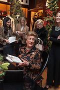 LADY PAMELA HICKS; , Book launch for ' Daughter of Empire - Life as a Mountbatten' by Lady Pamela Hicks. Ralph Lauren, 1 New Bond St. London. 12 November 2012.