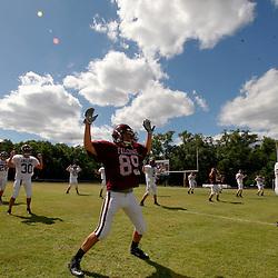During St. Thomas Aquinas Falcons spring football practice at Falcons Field in Hammond, La.