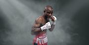 "South African boxer Thembani ""Baby jake"" Mbangatha"