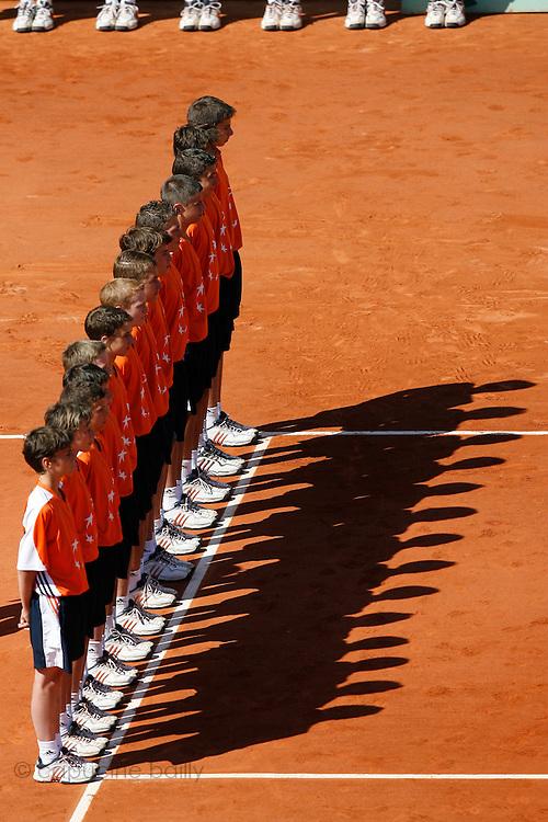 Roland Garros. Paris, France. June 10th 2006..Women's Final.