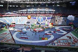 June 17, 2017 - Saint Petersburg, Russia - Of The Russian Federation. Saint-Petersburg. Confederations Cup 2017. Zenit arena. Saint Petersburg arena. Opening ceremony. (Credit Image: © Russian Look via ZUMA Wire)