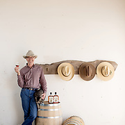 Tucson, AZ -- 09/28/2017<br /> <br /> Stephen Paul, along with his daughter Amanda Paul, founded Hamilton Distillers in 2006. Stephen spent the previous 20 years making custom luxury mesquite wood furniture. <br /> <br /> Hamilton Distillers, makers of Whiskey Del Bac, is the first craft distillery in Southern Arizona since prohibition. The company produces three distinct single malt whiskeys, including Whiskey Del Bac Dorado which is malted over mesquite.<br /> <br /> The distillery offers tours and tastings on Saturdays at 3 p.m<br /> <br /> Photography by Jill Richards
