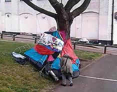 Homlessman Tent